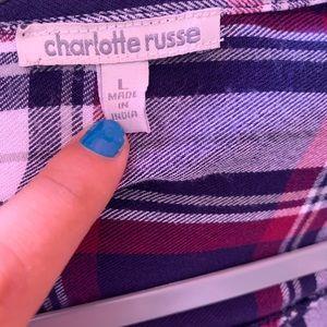 Charlotte Russe Dresses - Long flannel dress